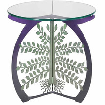 Tree of Life Glass Top Table | Cricket Forge