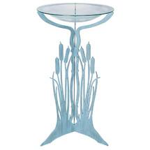 Cattails Pedestal Bird Bath | Cricket Forge | P002-G008
