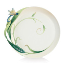 Peace and Harmony Ornamental Round Plate | FZ02124 | Franz Porcelain Collection