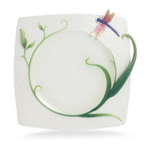 Peace and Harmony Bamboo Collection Square Plate