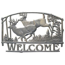 Deer Welcome Sign | Painted Sky | PSWS-DR