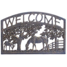 Horse Welcome Sign | Painted Sky | PSWS-HS