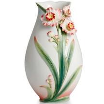 Daffodil Vase | FZ02301 | Franz Porcelain Collection
