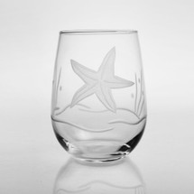 Starfish Wine Tumbler Set of 4 | Rolf Glass | ROL400334