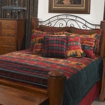 Fish Lodge Twin Bedspread | Denali | DHC51261889