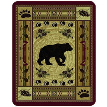 Bear Blanket Native Bear Patchwork | DUKDB5350-2