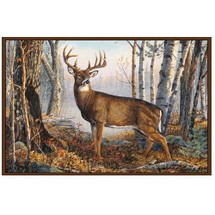 Whitetail Deer Area Rug | Custom Printed Rugs | CPRwhitetail