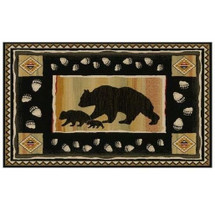 Bear Area Rug Take the Lead - Hearthside Collection