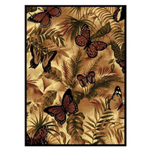 Butterfly Jungle Area Rug