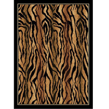 Tiger Safari Print Area Rug | United Weavers | UW910-05750