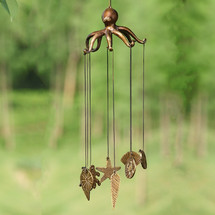 Octopus and Seashell Windchime