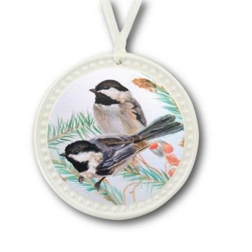 Chickadee Ornament   BDI180BH07