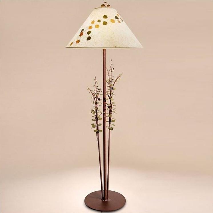 Aspen leaves floor lamp aspen lighting decor furnishing for Aspen tree floor lamp
