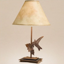 Hummingbird Table Lamp | Colorado Dallas | CDTL70D27SH2156