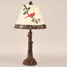 Cardinal Pine Branch Table Lamp | Coast Lamp | CLM2727