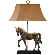 Horse Standing Table Lamp | Crestview Collection | CVCCVAQP936