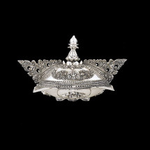 Silver Plated Ornate Jewelry Box U304 | D'Argenta