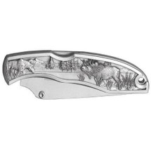 Moose Collector's Knife | Heritage Pewter | HPIKNF803