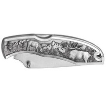 Elk Collector's Knife | Heritage Pewter | HPIKNF804