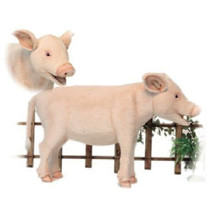 Pig Plush Foot Stool | Hansa Toys | HTU6337