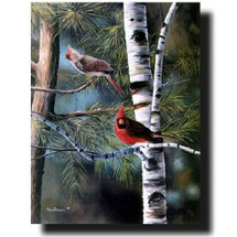 "Cardinal Print ""A Touch of Red"" 