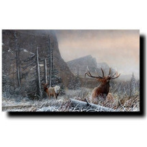 "Elk Print ""Commencement of the Rut"" 