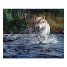 "Wolf Print ""The Crossing"" 