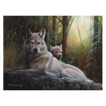 "Wolf Print ""Woodland Pride"" | Kevin Daniel | KD472"