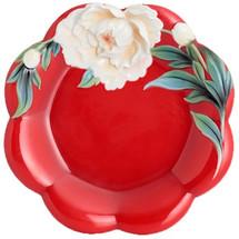 Venice Peony Porcelain Cake Plate | FZ02734 | Franz Porcelain Collection