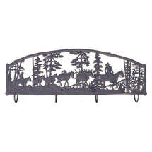 Horse Pack Train Coat Rack | Painted Sky | PSWHAM-PT