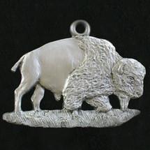 Bison Pewter Ornament | Andy Schumann | SCHMC122135