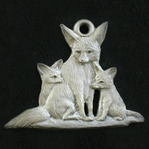Fox Pewter Ornament | Andy Schumann | SCHMC122139