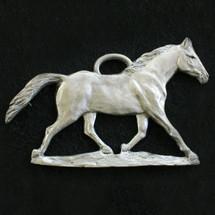 Horse Pewter Ornament | Andy Schumann | SCHMC122144