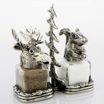 Moose Squirrel Salt Pepper Shakers | Silvie Goldmark | SGM118