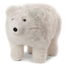 "Polar Bear ""Frosty"" Footstool | Carstens Friendly Footstool | tb812"