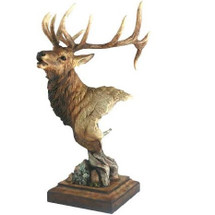"Elk Sculpture ""High Point"" 
