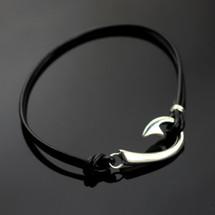 Hook Sterling Silver Bracelet | Anisa Stewart Jewelry | ASJbp1039