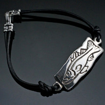 Snook Sterling Silver Bracelet   Anisa Stewart Jewelry   BBRBF1006