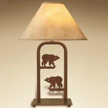 Bear Fortress Table Lamp | Colorado Dallas | CDTLF12SH2158