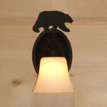 Bear Silhouette Sconce | Colorado Dallas | CDWL810-15-INVT