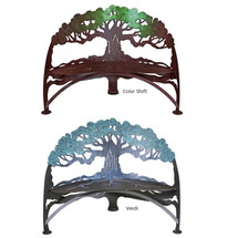 Tree Outdoor Bench | Cricket Forge | B015-016