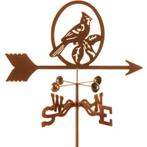 Cardinal Weathervane | EZ Vane | ezvcardinal