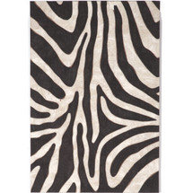 Safari Zebra Indoor Outdoor Area Rug | Trans Ocean | TOG3043
