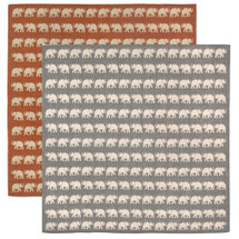 Elephant Indoor Outdoor Area Rug Square | Trans Ocean | TOGTERS8176774