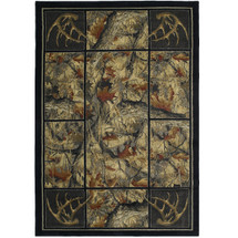 Deer Area Rug Antler's Camo | United Weavers | UW532-46875