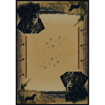 Duck and Dog Area Rug Duck Hunter | United Weavers