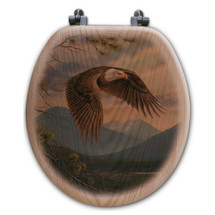 Eagle Toilet Seat | Wood Graphixs | WGIMAJM-R