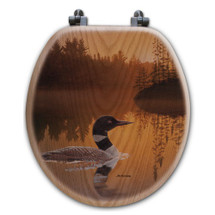 "Loon Toilet Seat ""Stone Island"" 