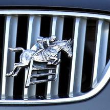 Horse Jumping Grille Ornament |Grillie | GRIhorsejap