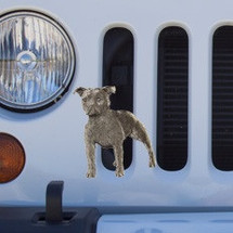 Pit Bull Grille Ornament |Grillie | GRIpitap -2